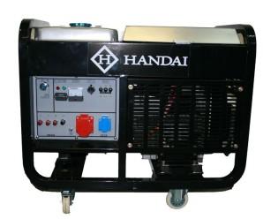 10kW/11kW dieselaggregaatti sähköstartilla, valo- sekä voimavirta